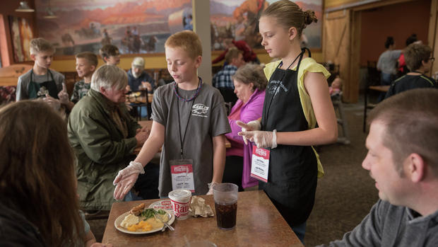 Class project offers job experience: CCS fifth-graders learn future lessons working at Pizza Ranch