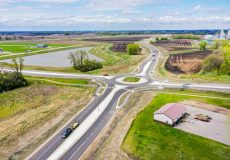 Willmar Wye road construction is done, next step is rail